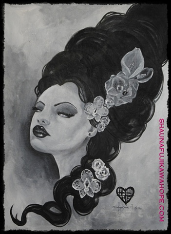 All Rights Reserved By Shauna Fujikawa Hope Tattoos & Artwork - Frankenstein's Bride
