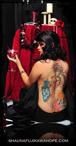 All Rights Reserved By Shauna Fujikawa Hope Tattoos & Art - Geisha
