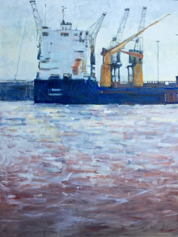 Freighter Paintings