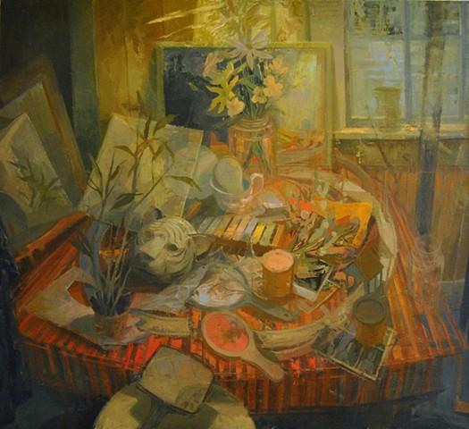 Garden (Jar Painting IV)