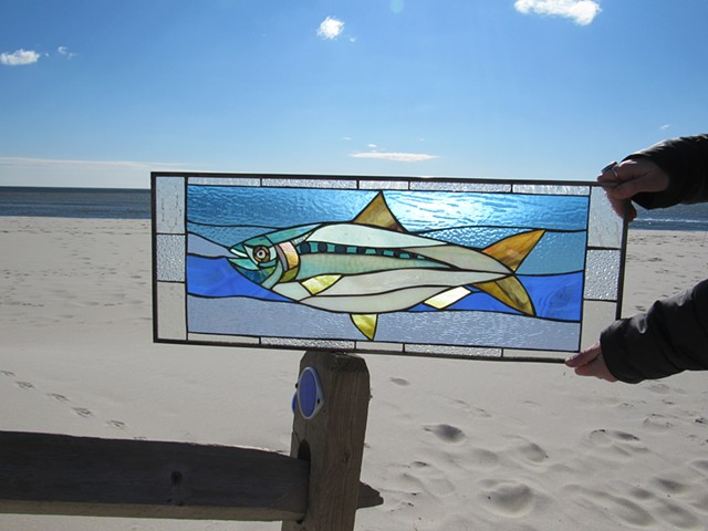 Custom Shad Transom Window