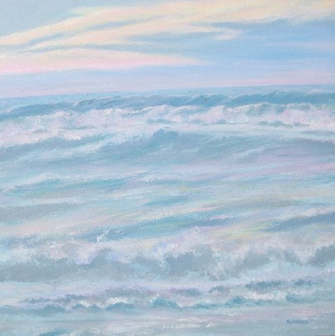 Cathleen Engelsen, Long Beach Island, LBI, historical paintings, Sunrise on LBI