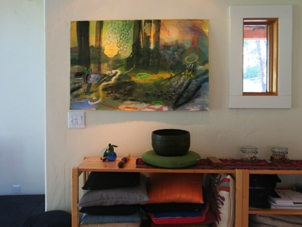 Paintings in Zendo