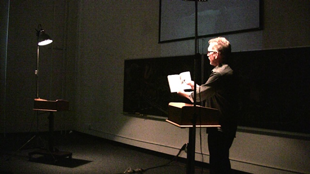 James shows the book we chose for the edition: 'Mathematics and the Unexpected'