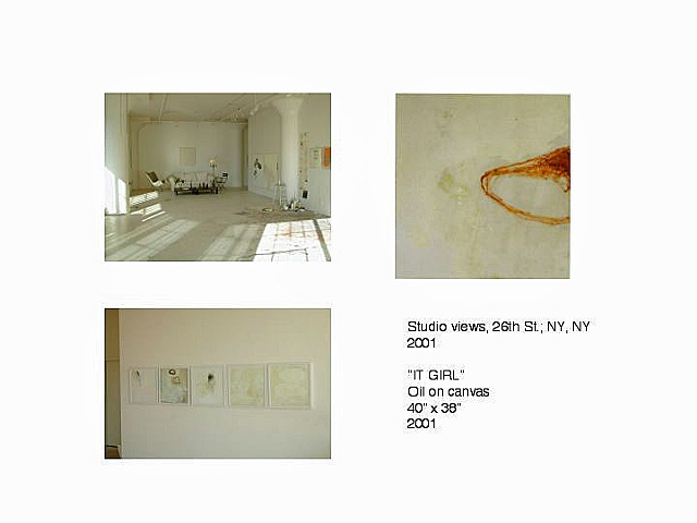 Studio, 601 W. 26th St., NYC  2001