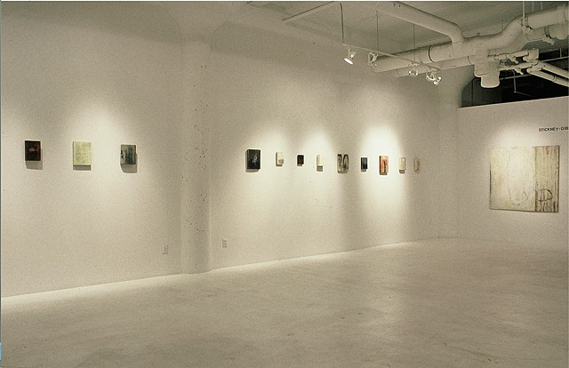 """SECRETS"" Installation view E. Peterson Gallery; NY, NY   1999"