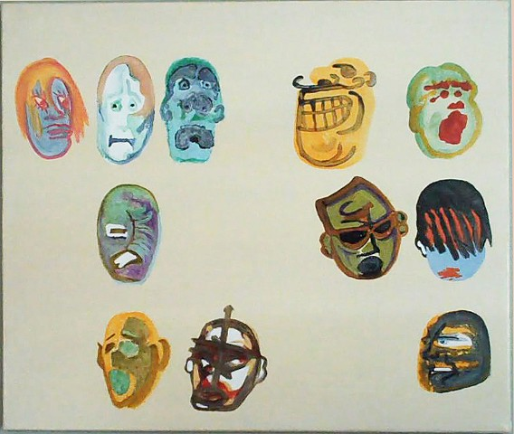 Masks Series, 2012