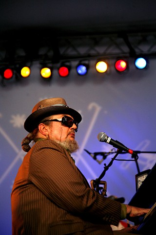 Dr. John, Voodoo Fest, Doctor John, New Orleans, piano, musician, piano player, concert photography