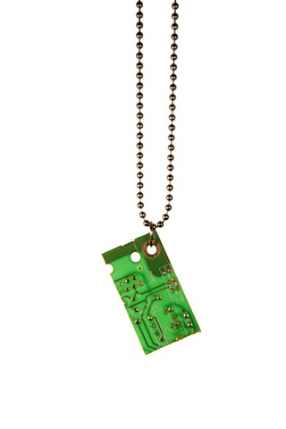 Computer Part Necklace