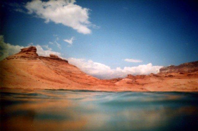 lake Powell, water, red rocks, landscape, photography, art for sale, underwater, underwater photography, desert