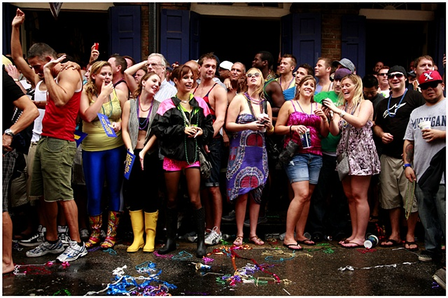 Tropical Storm Lee caused the cancellation of numerous events for Labor Day weekend through out New Orleans and Louisiana. Despite the rain the Southern Decadence parade went on without a hitch. Numerous people came out to party and show their support arm