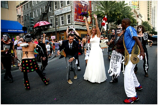 New Orleans is home to many festivals, but Festigals is one strictly for the ladies. The weekend festival is organized by women for women, with events through the weekend catering to women.  The Festigals parade was no different and featured various all f