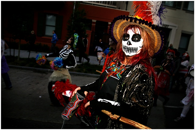 "The Yemaya parade is the first all ladies walking parade; it is New Orleans' answer to ""Lady Fest"" a nationwide festival that celebrates women. The parade featured all female krewes including Skinz n Bonez, The Bearded Oysters, The Camel-Toe Lady Steppers"