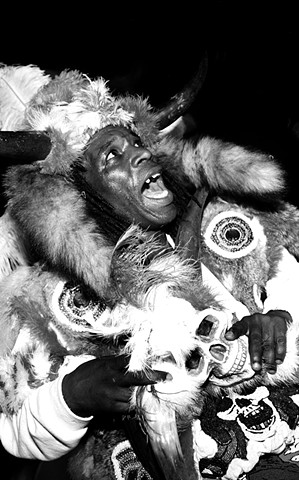 St. Joseph Night, Mardi Gras Indians, New Orleans, Louisiana, Mardi Gras Indian, New Orleans photos, black white photo