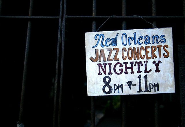 Preservation Hall, New Orleans LA, New Orleans Louisiana, New Orleans, Louisiana, live music