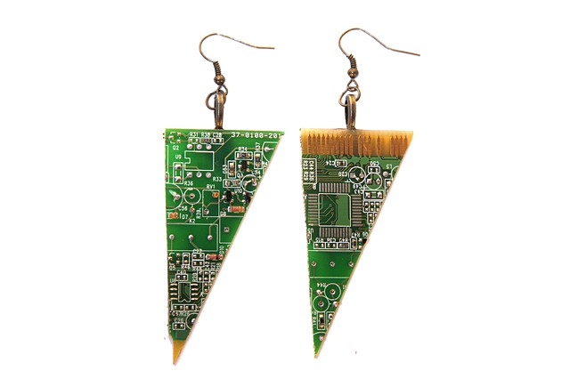Computer Part Earrings