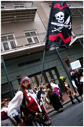 PARADING WITH PIRATES