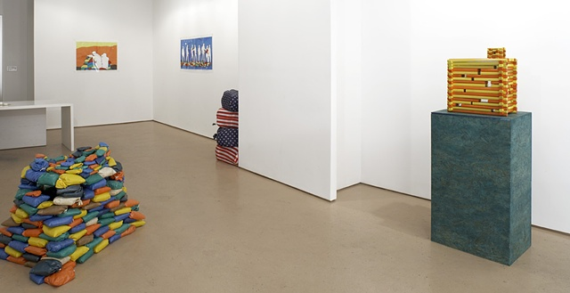 Installation view by Michael Bernstein