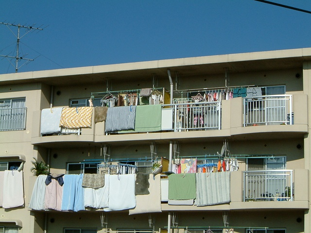 Ibaraki laundry photograph by Michael Bernstein