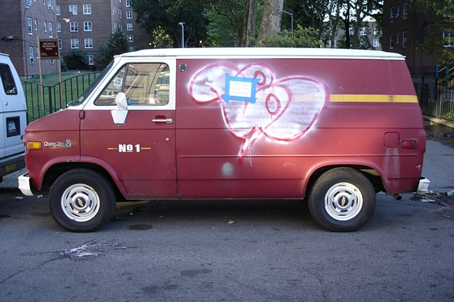 van photograph by Michael Bernstein