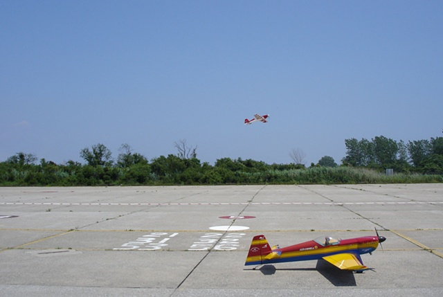 RC plane photograph by Michael Bernstein