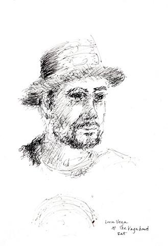 Portrait of Louis Vega