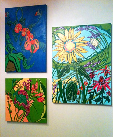 Surface Aritst Cooperative, Florals, Oil paintings