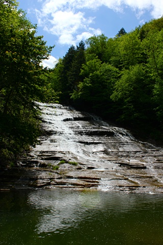 Photography, buttermilk falls, ithaca, new york, art margaux, maggie wolszczan, nature