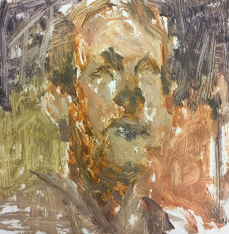 Unfinished, Self-Portrait