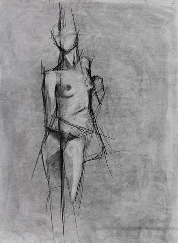 Life Drawing I-IV