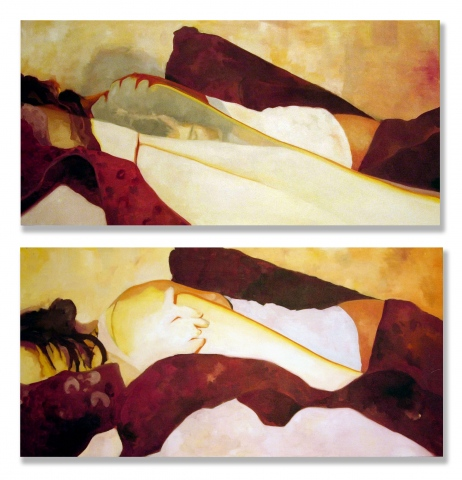 sleep diptych