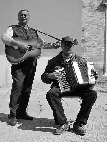 Musicisti di strada, Venezia