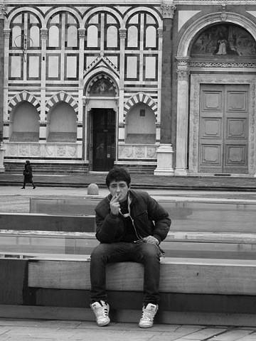 Un Ragazzo di Fumare, Firenze