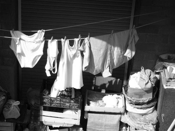 Corda del bucato, Riomaggiore