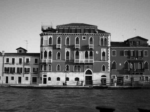 Il vaporetto viaggio, Canal Grande, Venezia