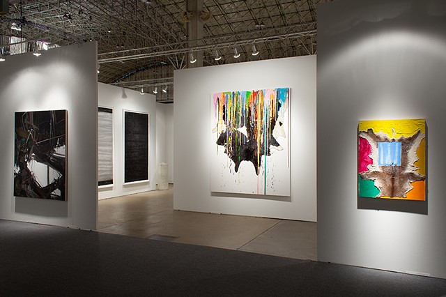 Installation View at Art Expo Chicago,  Kavi Gupta (C)