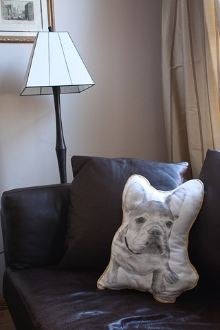 French Bulldog Pillow