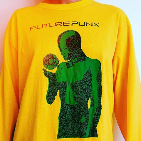 2 color long-sleeve for Future Punx