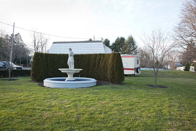 Freehold, NJ, New Jersey, statue, small town, landscape