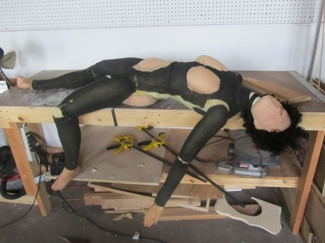 In progress. Fully articulated joints for natural movement and weight.