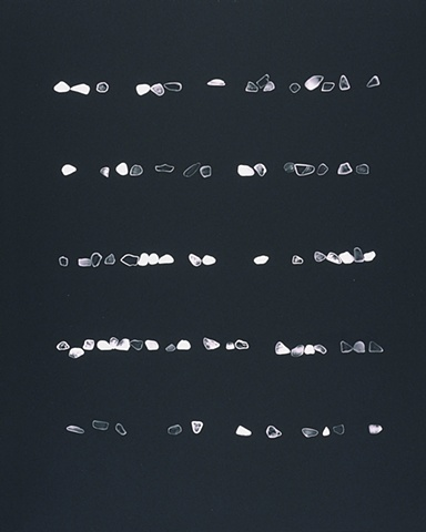 Photogram #53 B, Gem Stones