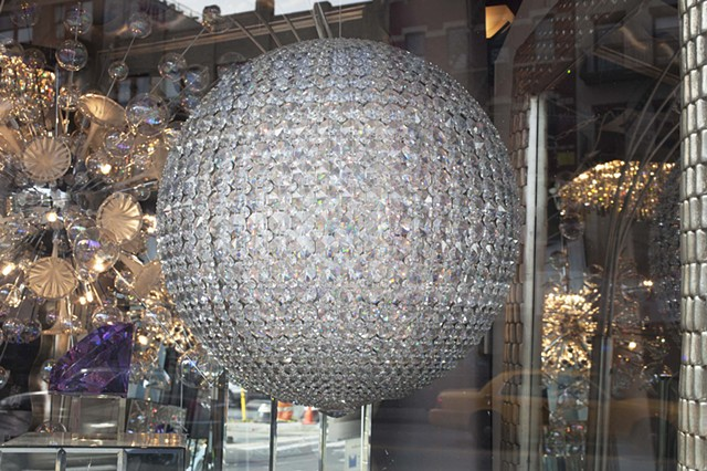 Crystal Sphere Chandelier,2