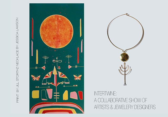 Intertwine: a Collaborative Show of Artists & Jewelry Designers