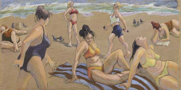 Women on the Beach