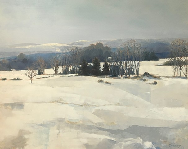 Winter In Stowe - SOLD