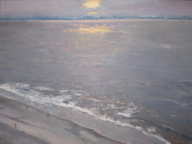 Sunrise On The Beach - sold