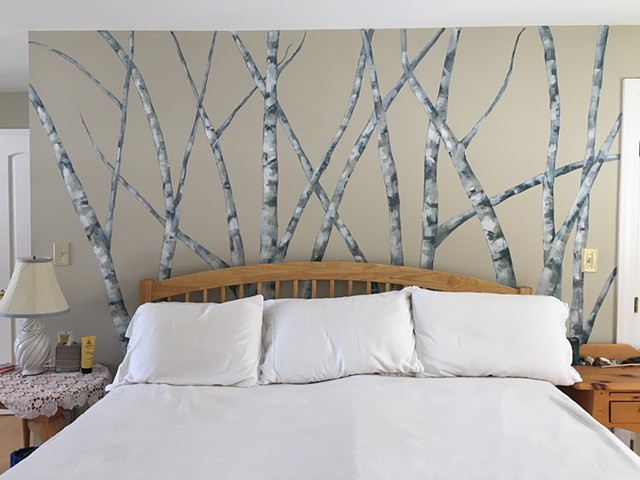 Bedroom Mural - SOLD