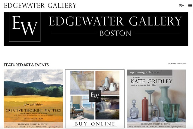 Edgewater Gallery Boston