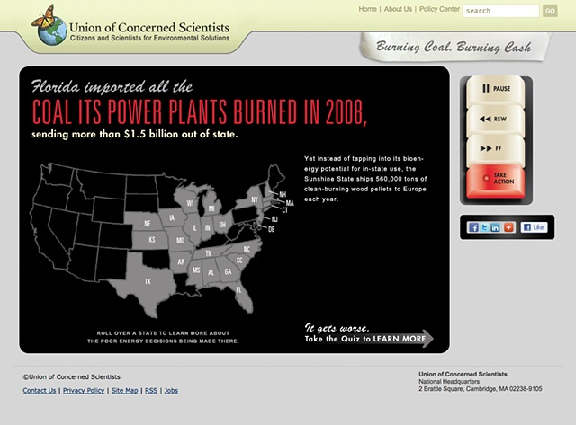 Rolling over revealed each states' poor energy choices.