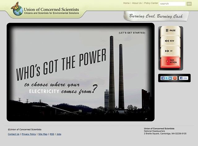 "A fun, ok, ""funish"" interactive tool that reveals the true costs of burning coal instead of alternative fuels."
